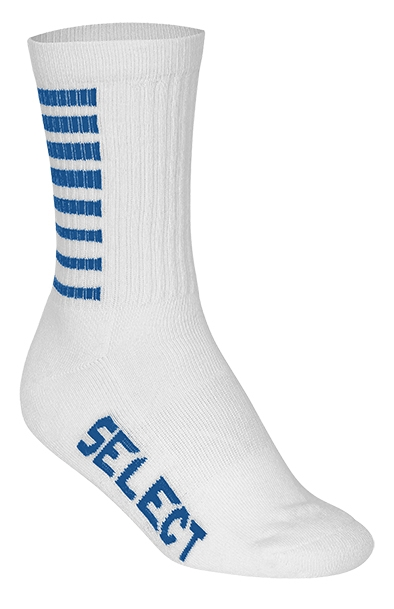 Chaussettes SELECT Striped Blanche/Bleue