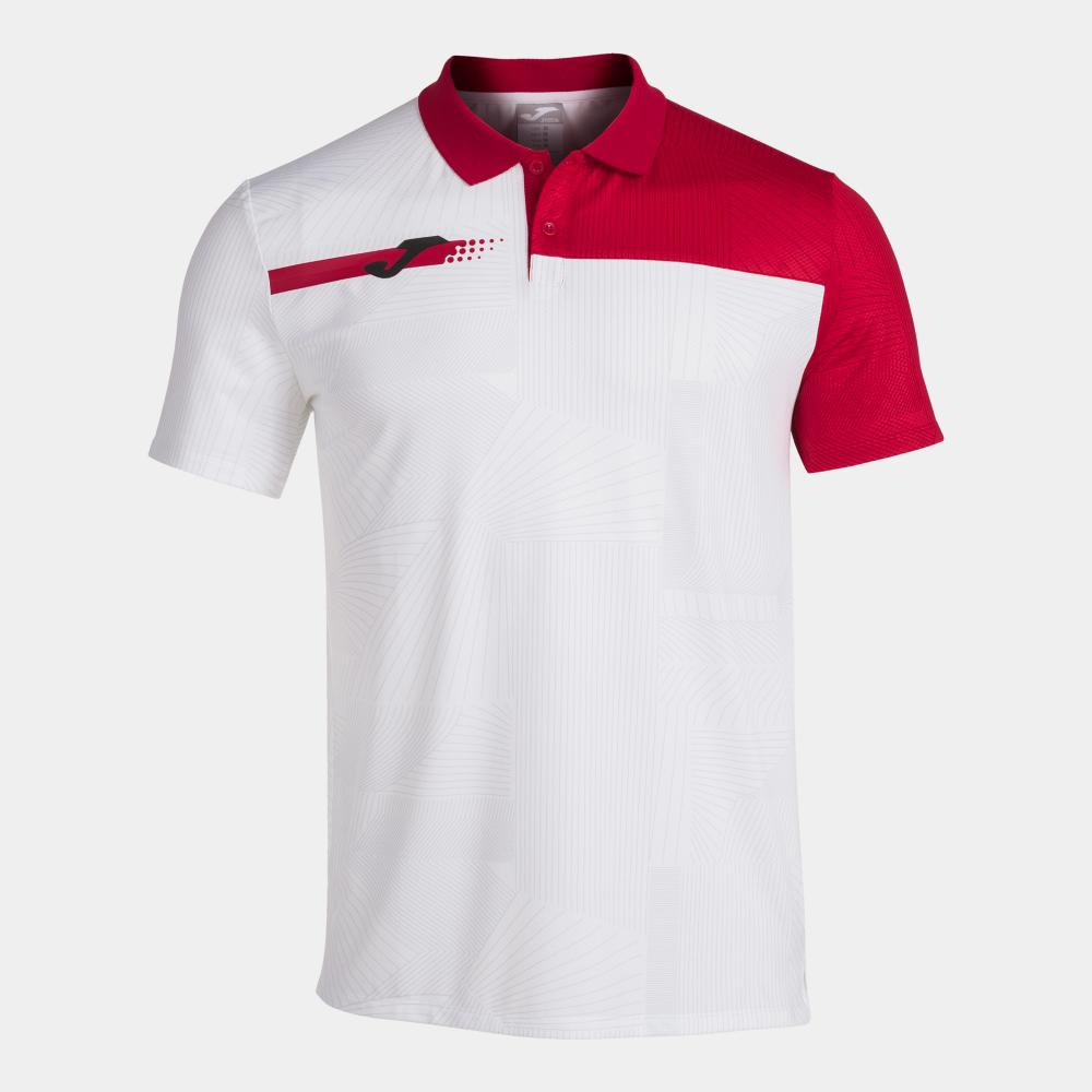 Polo JOMA Torneo Blanc/Rouge