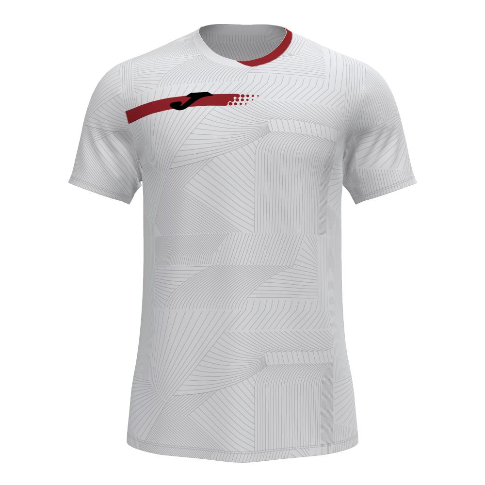 T-shirt JOMA Torneo Blanc/Rouge