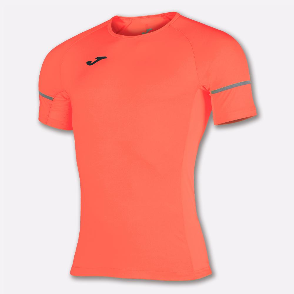 T-shirt JOMA Race Corail Fluo